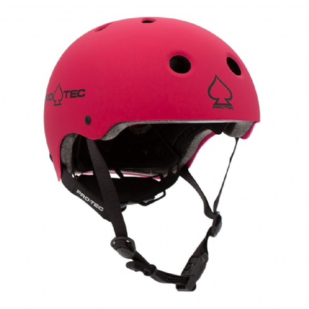 Pro-Tec JR Classic Fit Certified Helmet Matte Pink Medium